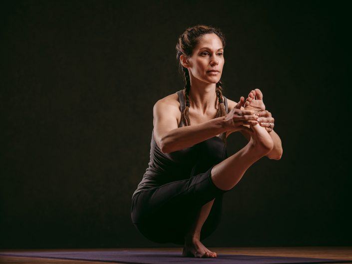 Female Yoga Instructor