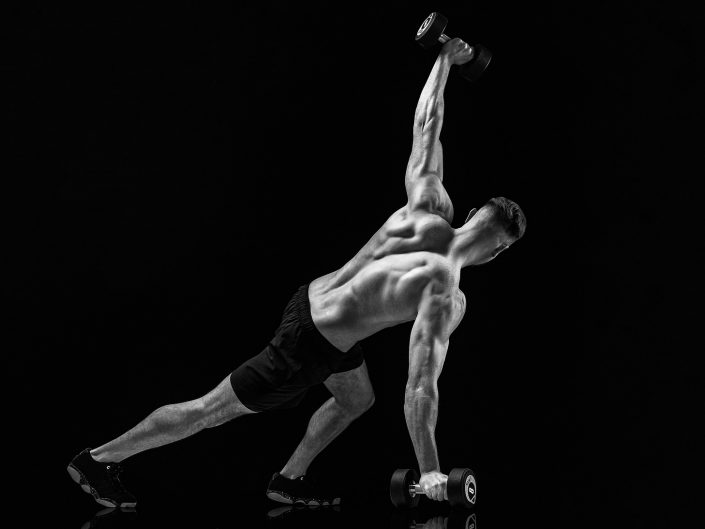 Fitness Photography Male Weights